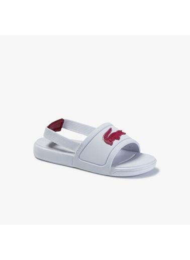 Lacoste Sandalet Beyaz